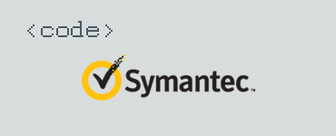 Detail Symantec Code Signing certificate